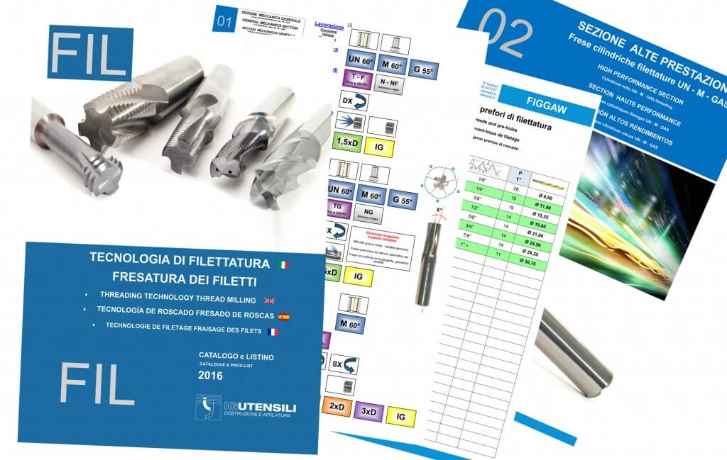 Catalogo 2016 FIL Filettatura e Fresatura dei filetti 5