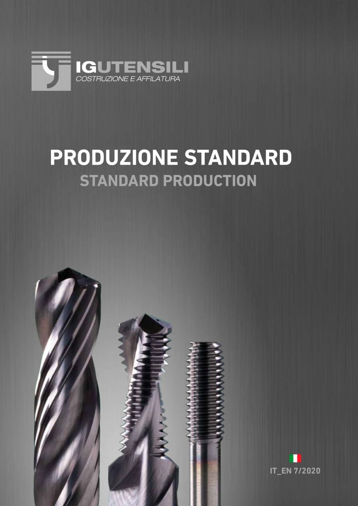 Standard tools – design and production 1